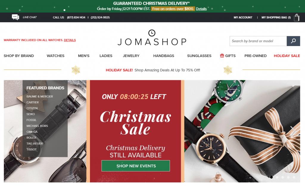 Mua hộ hàng Jomashop; order hàng Jomashop